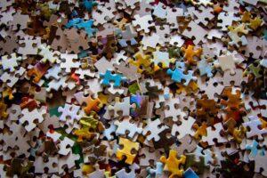 puzzle en vrac