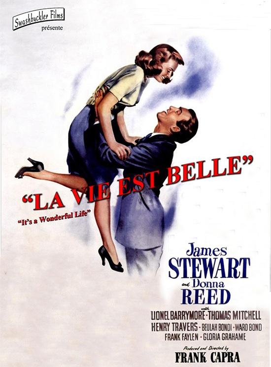 Comment trouver sa mission de vie : l'affiche du film la Vie est Belle de Frank Capra