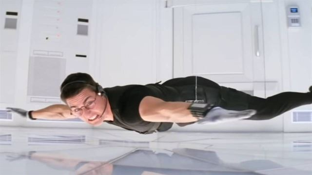 Tom Cruise dans une Mission Impossible